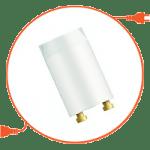 Комплектующие для люминесцентных ламп