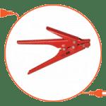 Инструмент для затяжки хомутов