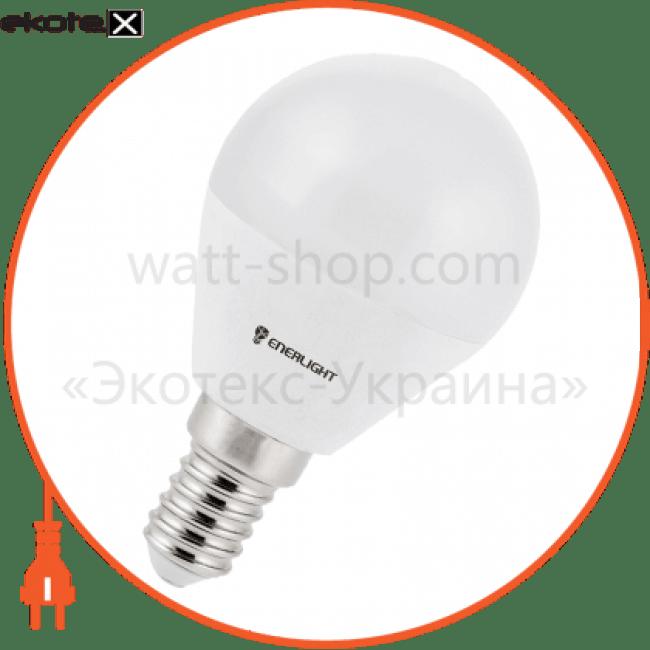лампа світлодіодна enerlight p45 5вт 4100k e14 светодиодные лампы enerlight Enerlight P45E145SMDNFR