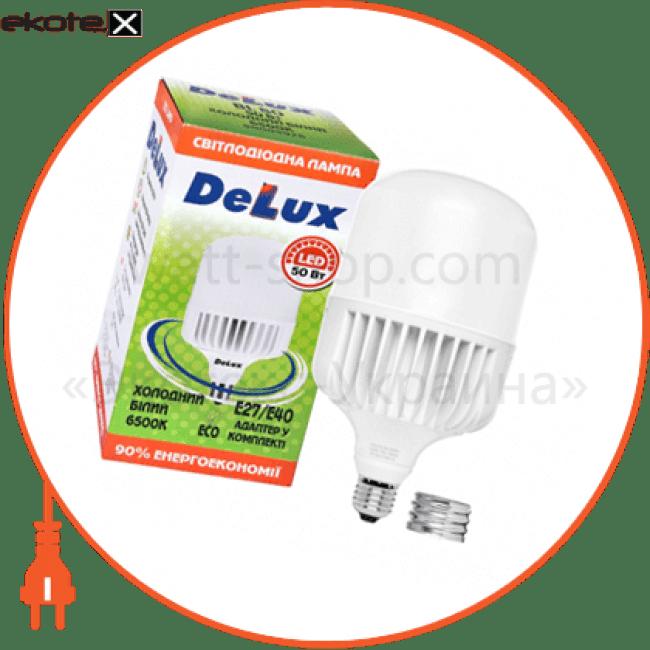 лампа світлодіодна delux bl 80 50w e27/е40 6500k_r (адаптер у комплекті) светодиодные лампы delux Delux 90009926