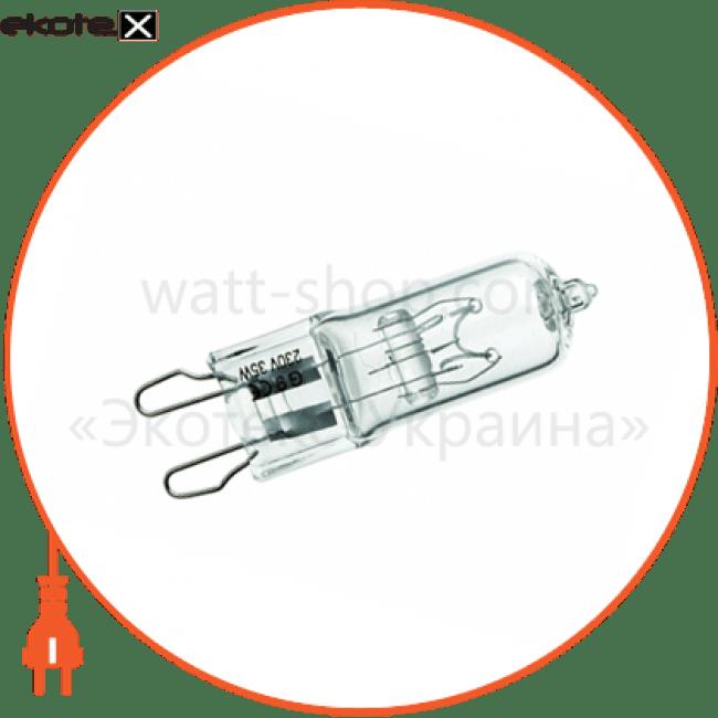 галогенна лампа delux g9 50вт прозора