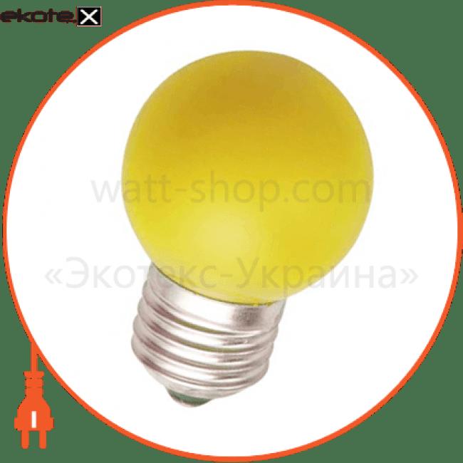 lb-37 g45 230v 1w e27 желтая светодиодные лампы feron Feron 25597