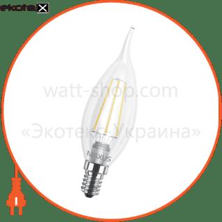 led лампа maxus (filam), c37 tl, 4w, яркий свет,e14 (1-led-540-01) светодиодные лампы maxus Maxus 1-LED-540-01
