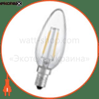 100203 Ledex светодиодные лампы ledex led лампа ledex 2w, е14, c35 свечка 4000к, filament, ic - driver