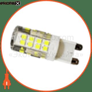 led лампа ledex g9 (5w ceramic, ac 220v, 4000k) чип: epistar светодиодные лампы ledex Ledex 100474