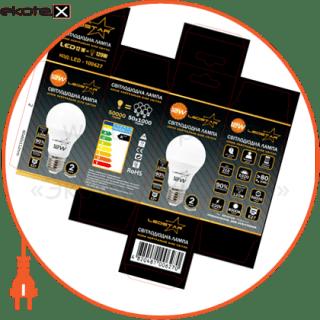 светодиодная лампа ledstar, 12w, e27, 1080lm, 4000к нейтральный, матовое стекло, 270?,  чип: epistar (тайвань) светодиодные лампы ledstar LEDSTAR 100627