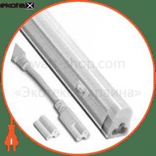 светодиодный светильник ledex t5, 60см, 8w, 640lm,3000к тепло белый, матовое стекло, напряжение: ac100-265v, с кнопкой включения светодиодные светильники ledex Ledex 100915