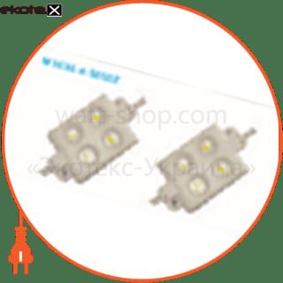 102479 Ledex светодиодные светильники ledex led модуль 5050, 4led, 1.2w, ip67, dc12v, 160°, 80lm