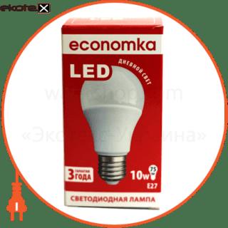 LED A60 10w E27-4200 Экономка светодиодные лампы экономка led лампа economka led a60 10w e27-4200