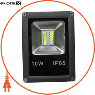led прожектор 10w 6500к черний светодиодные светильники optima Optima 8550