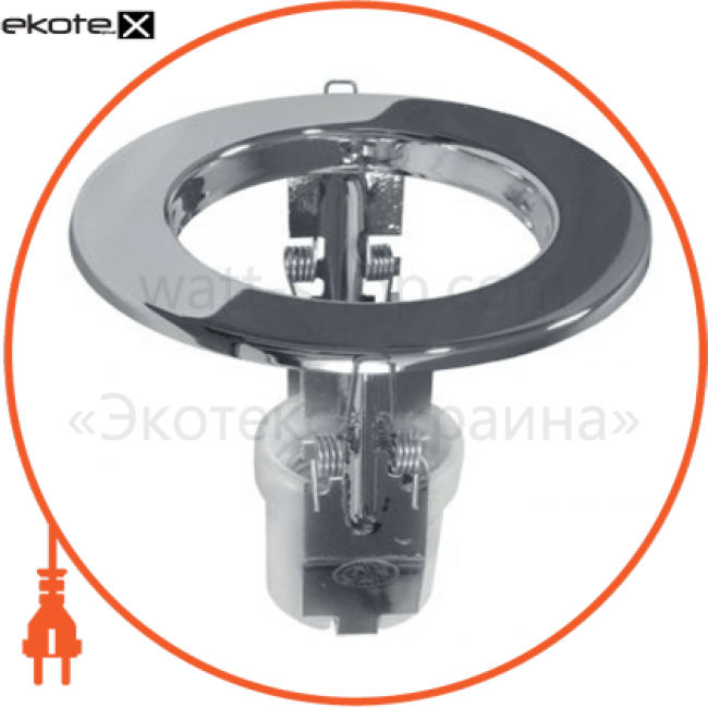 НВБ 02-60-001хх Horoz Eelectric комплектующие для светильников светильник р 63 хром без лампы