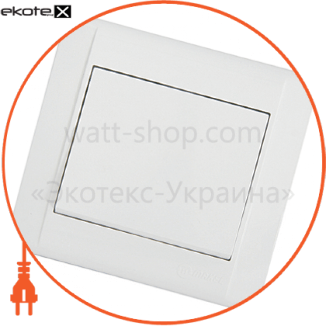 42001001 Makel выключатель вимикач 1-клавішний