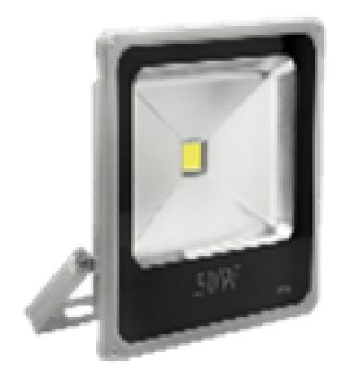 светодиодный прожектор ledex 20w, 1600lm, 6500к холодный белый, 120?, ip65, (slim) светодиодные светильники ledex Ledex 12731