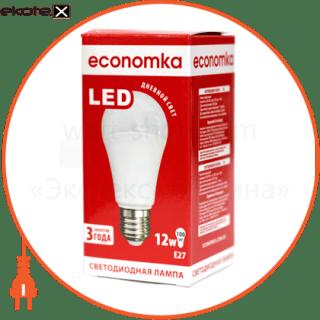 led лампа economka led a60 12w e27-4200 светодиодные лампы экономка Экономка LED A60 12w E27-4200