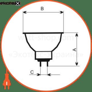 лампа галогенная mr-16 75w gu5,3 38° 13-1026 галогенные лампы electrum ELM