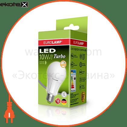 eurolamp led лампа turbo new dimmable а60 10w e27 4000к светодиодные лампы eurolamp Eurolamp LED-A60-10274(T)dim