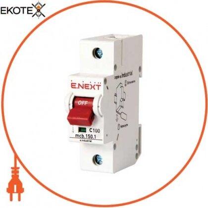 Enext i0630033 модульный автоматический выключатель e.industrial.mcb.150.1.c50, 1р, 50а, c, 15ка