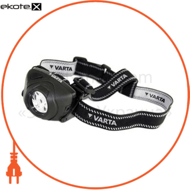 фонарь varta indestructible head light led x5 3aaa (17730101421) светодиодные фонари Varta 17730101421