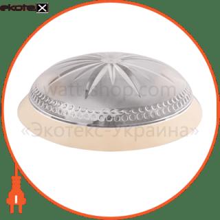 160307 ERKA декоративные светильники светильник erka 1149-k, настенный, 2х26w, прозрачный, е27, ip20