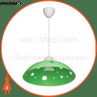 160603 ERKA декоративные светильники светильник erka 1302, потолочный, 60w, (салатовый), е27