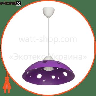 160604 ERKA декоративные светильники светильник erka 1302, потолочный, 60w, (фиолетовый), е27