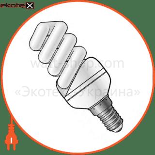 лампа энергосберегающая es-12 9w 2700k e14  17-0027 энергосберегающие лампы electrum ELM