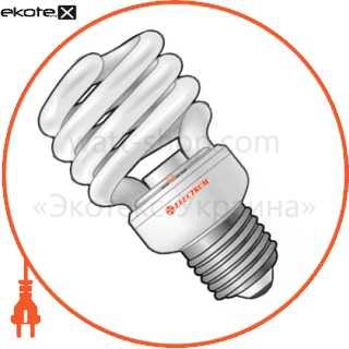 лампа энергосберегающая es-16 13w 4000k e27  17-0112 энергосберегающие лампы electrum ELM