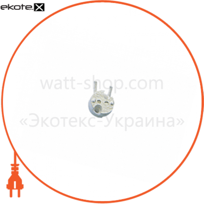 тримач лампи cs-103 g4-g6.35 (12см) керамічний комплектующие для светодиодных ламп Delux 10008341