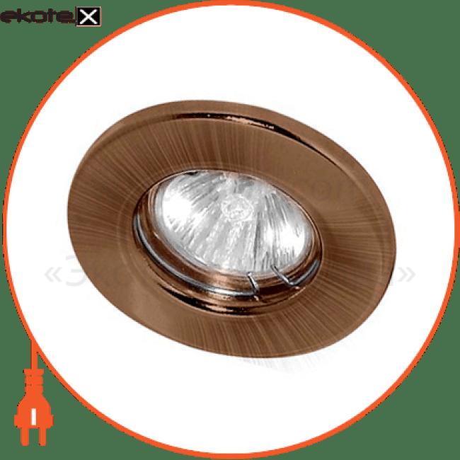 15207 Feron декоративные светильники dl 10 античная медь под mr-16 неповоротный