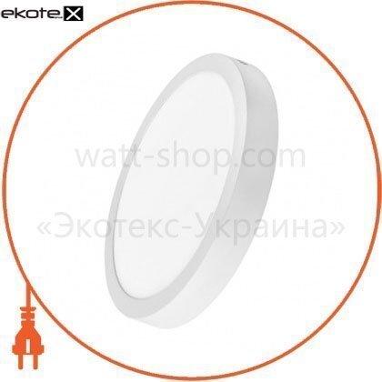 Delux 90006818 светильник светодиодный накладной потолочный delux cfq led 10 4100к 220в 24вт круг