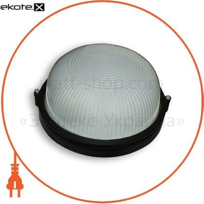 Ecostrum 68665 светильник 60w круг черный