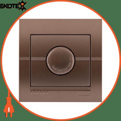 Lezard 702-3131-116 диммер 500 вт с фильтром 702-3131-116 цвет светло-коричневый металлик 10ах 250v~