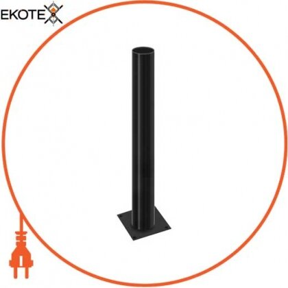 Enext l0120060 опора стальная e.street.bollard.st.600.black, высота 600мм, диаметр 60мм, черная