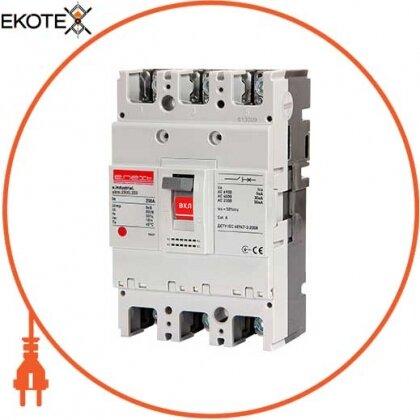 Enext i0010018 силовой автоматический выключатель e.industrial.ukm.250s.125, 3р, 125а
