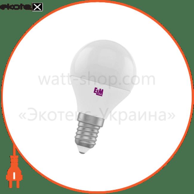 d45 7w pa10l e14 3000 светодиодные лампы electrum ELM 18-0113