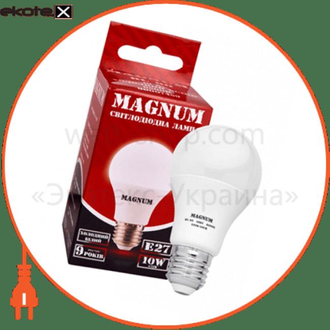 лампа світлодіодна bl 60 10 вт 6500k 220в e27 светодиодные лампы magnum Magnum 90007459