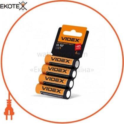 Videx 21157 videx батарейка солевая videx r6p/aa 4pcs shrink card 60 шт/уп