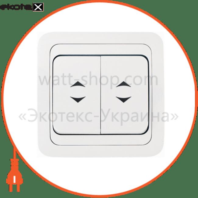 22026 Makel выключатель вимикач 2-клавішний прохідний