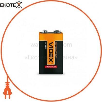 Videx 22527 videx батарейка солевая videx 6f22/9v (крона) 1pcs shrink 24 шт/уп