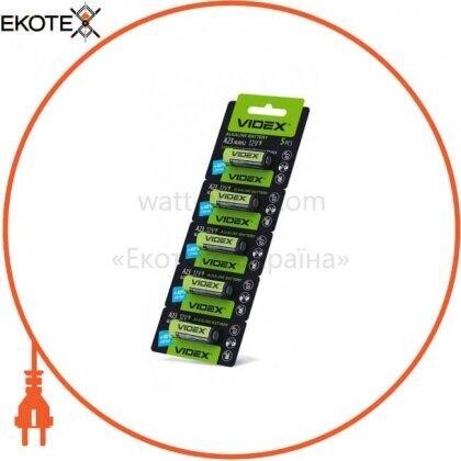 Videx 22821 videx батарейка щелочная а23 5pcs blister card 50 шт/уп