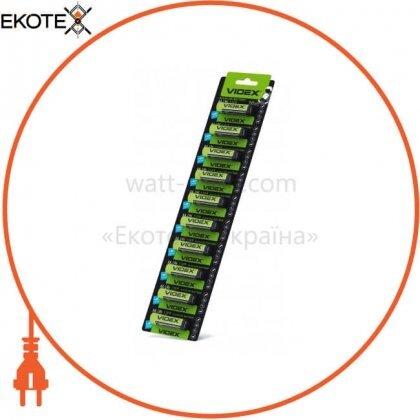 Videx 23234 videx батарейка щелочная lr6/aa 10x1pcs отрывной blister card 100 шт/уп