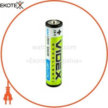 Videx 23484 videx батарейка щелочная lr03/aaa 8 pcs blister card 80 шт/уп