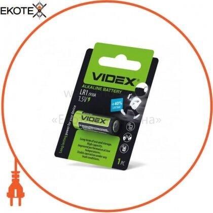 Videx 24235 videx батарейка щелочная lr1 1pc blister (12/360)