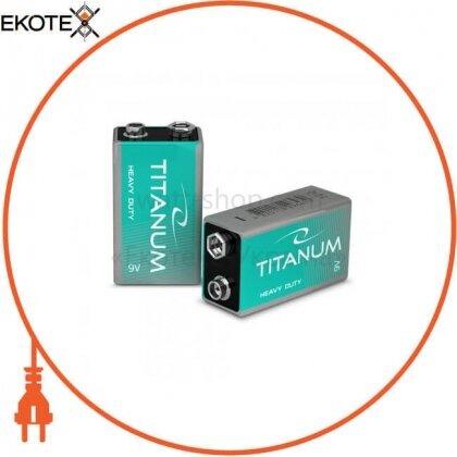 Videx 24787 батарейка солевая titanum 6f22 shrink крона (20/480)