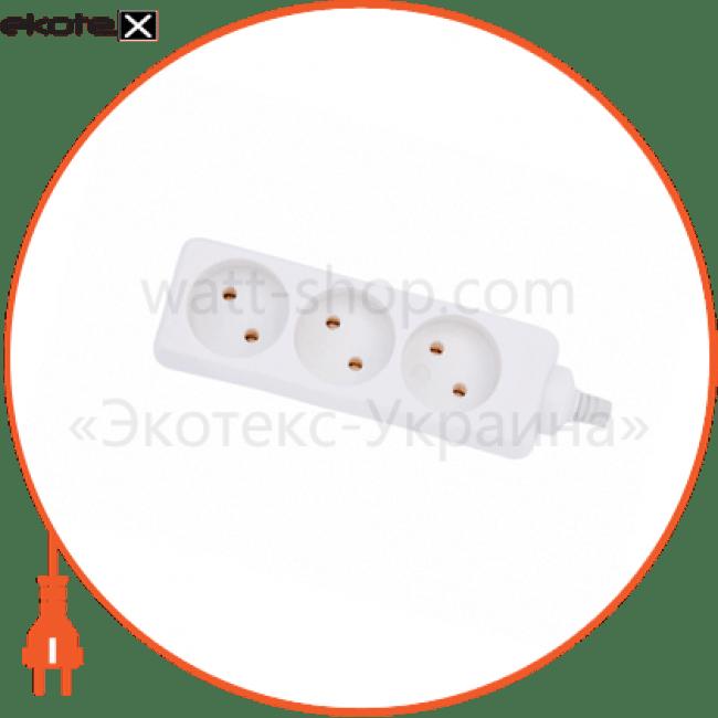 колодка подовжувача w/t g3j без заземлення (без дроту)