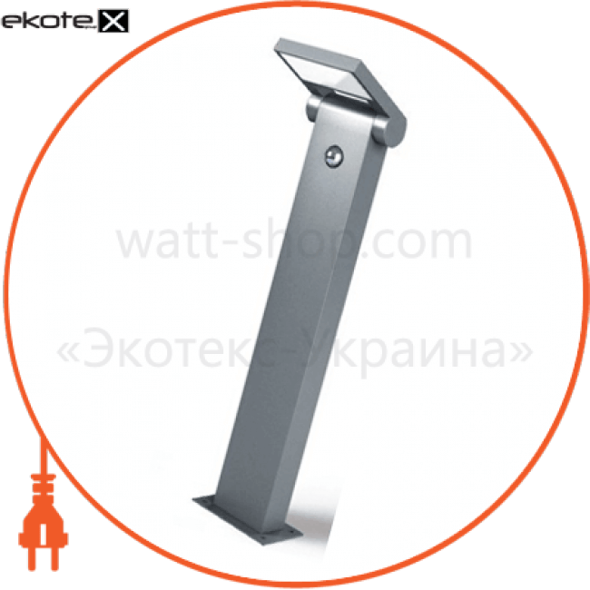 bollard light tosca 10w 3000k 1000h-s dg садово-парковые светильники Intelite O117310-1000S