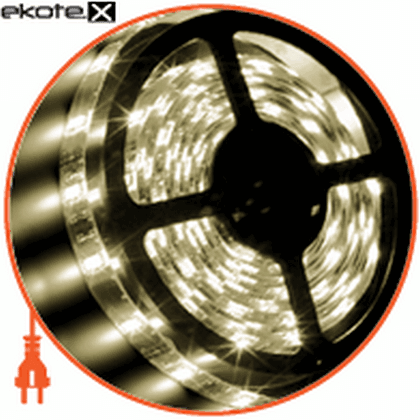 3528, 60 диодов/м, 2.7м, 12v, блок питания 24w светодиодная лента eurolamp Eurolamp LED/SET-2.7m/2700K
