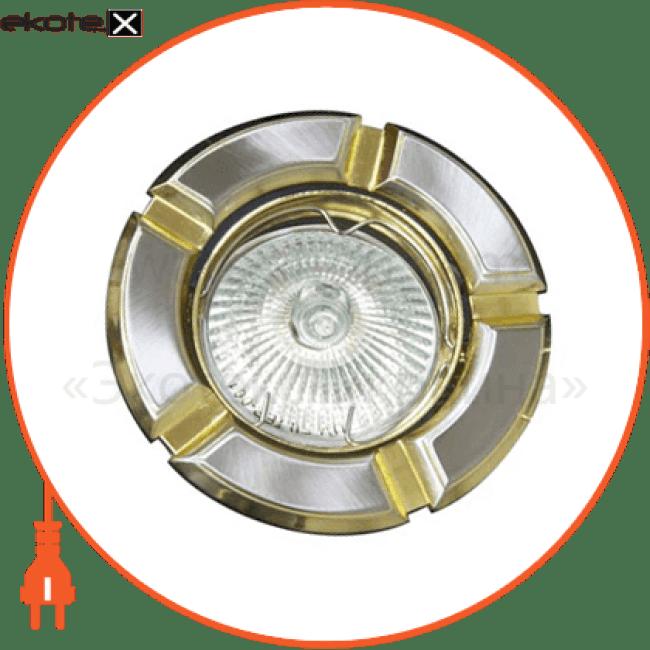 встраиваемый светильник feron 098 r-50 титан золото 17630 декоративные светильники Feron 17630
