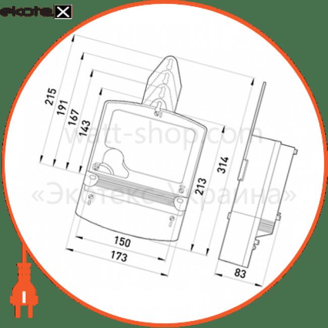 трехфазный счетчик ник 2303 арк1т 1141 3х220/380в 5(10)а 3-фазные Enext nik3778
