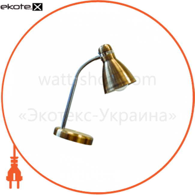 світильник настільний tf-05 60вт e27 з сенсором антична латунь new промышленные светильники delux Delux 10081443